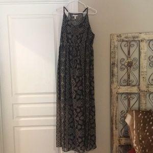Liz Lange Maternity maxi dress, size M